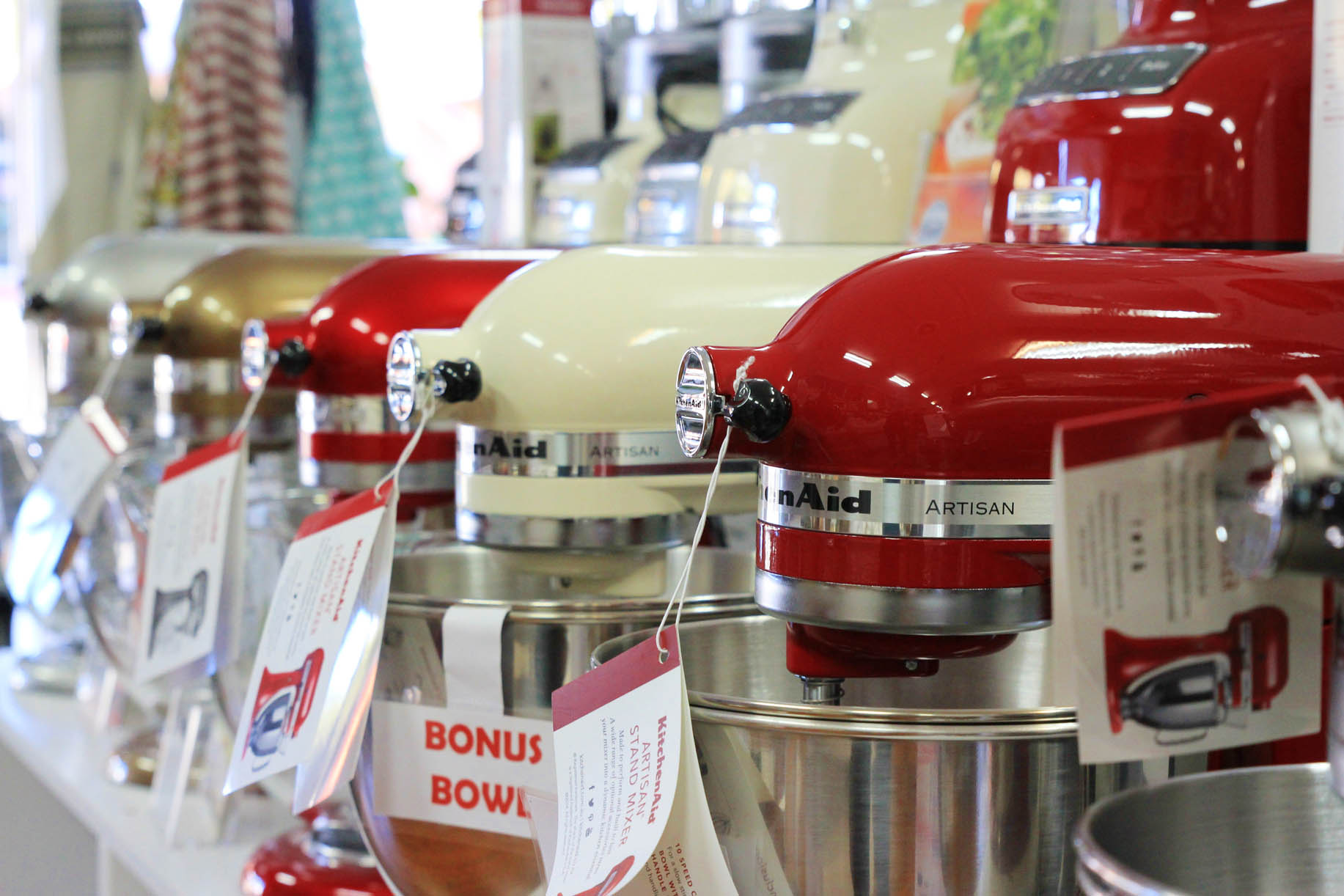 KitchenAid Mixers available at Under The Gable